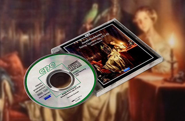 CD Mendelssohn String Quartets